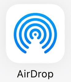 AirDropアイコン